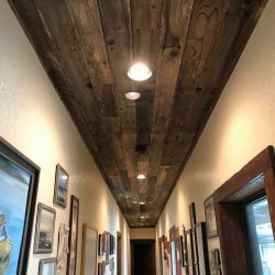 Reclaimed Wood Ceiling Renovation