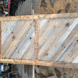 Repurposed Wood Door