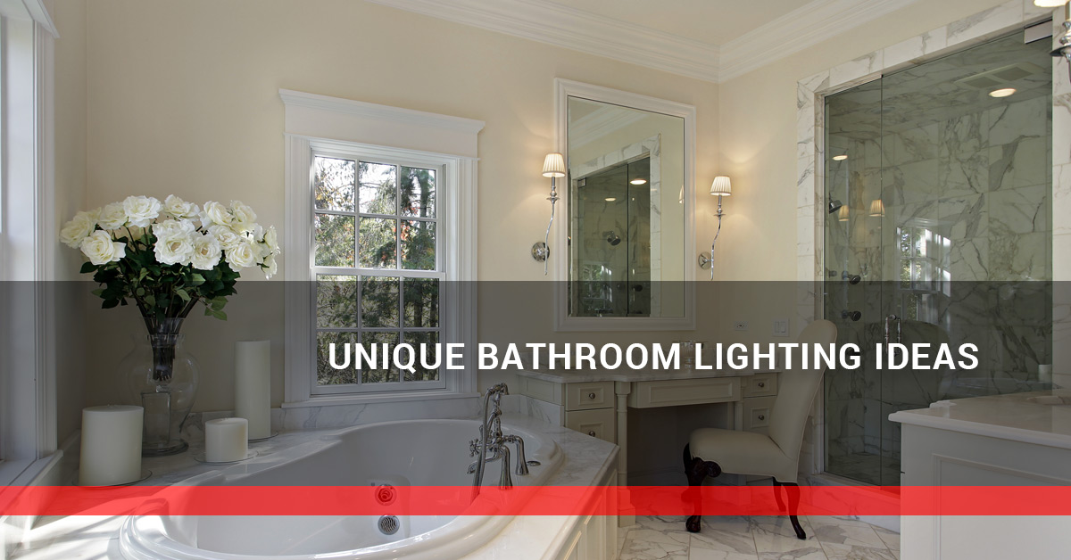 unique bathroom lighting ideas. Interesting Lighting You Spend More Time In Your Bathroom Than You May Realize From Showers To  Putting On Makeup And Shaving Need Be Comfortable Bathroom  For Unique Bathroom Lighting Ideas M