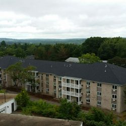 Black Asphalt Shingles Installed on Apartment Complex