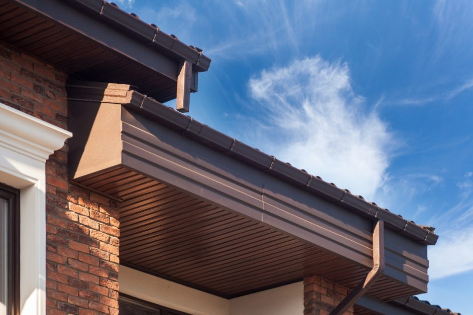 Gutters and Roof Flashing