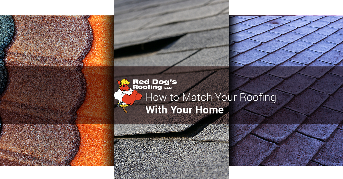 How to Match Your Roofing