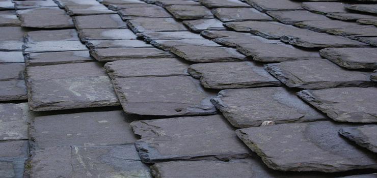 Weathered Slate Roofing