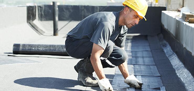Bitumen Roofing Installation