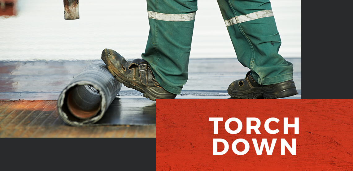 Torch-Down Roofing Banner
