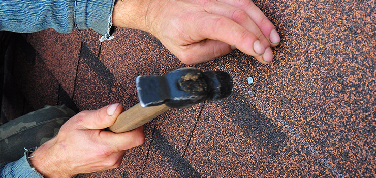Installing Asphalt Shingles on Roof