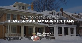 Heavy Snow and Damaging Ice Dams Banner