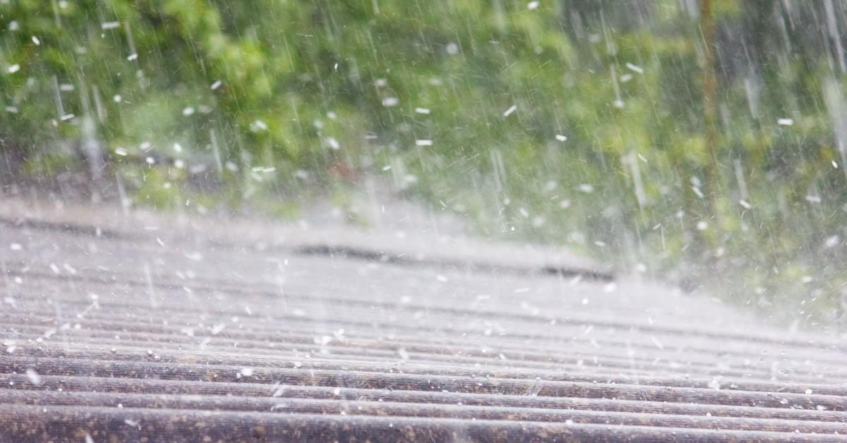 Rainfall on a Rooftop