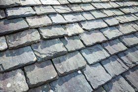 Weathered Slate Tile Roofing