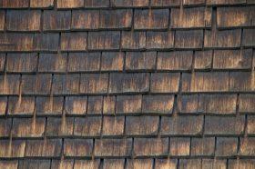 Worn Wood Shake Roofing