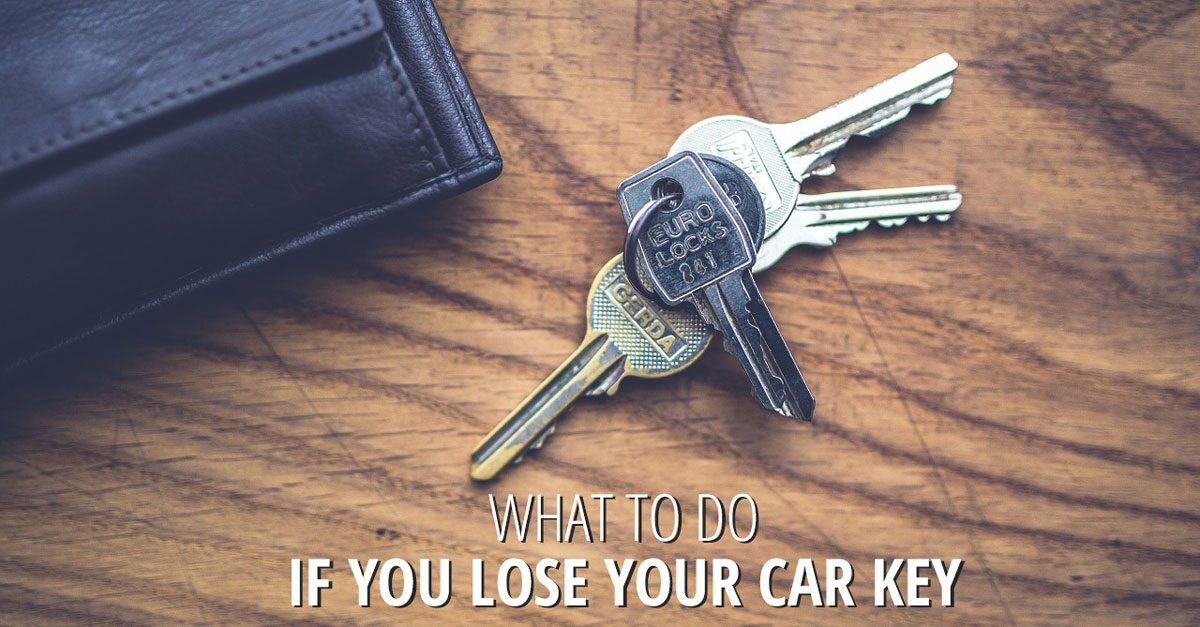 Transponder Key: What To Do If You Lose Your Key