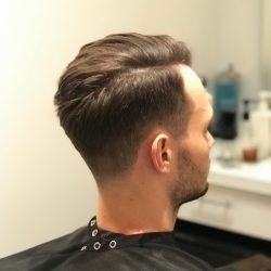 men's hair cut and style back view Refine Men's Salon Scottsdale