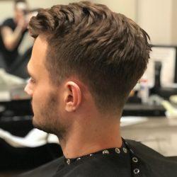 men's hair cut and style Refine Men's Salon Scottsdale