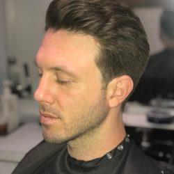 men's hair cut front view Refine Men's Salon Scottsdale
