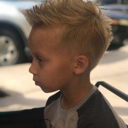child's hair cut Refine Men's Salon Scottsdale