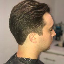men's hair cut side view Refine Men's Salon Scottsdale