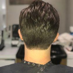men's hair cut back view Refine Men's Salon Scottsdale