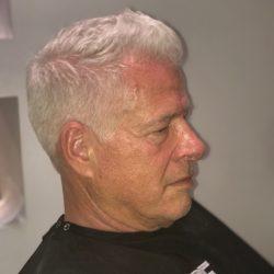 senior men's hair cut Refine Men's Salon Scottsdale