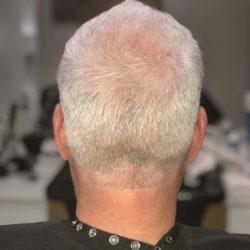 senior men's hair cut back view Refine Men's Salon Scottsdale