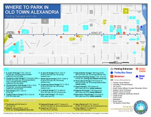Old Town Parking Map