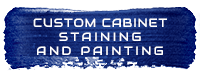 Custom Cabinet Staining and Painting Icon