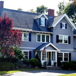 Exterior House Painting in Fall