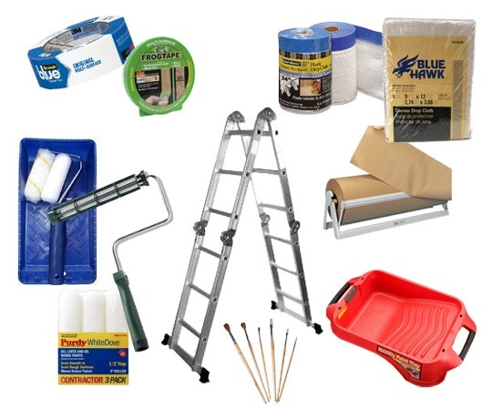 Repairs paints llc avoid painting yourself marlton - Supplies needed to paint a room ...