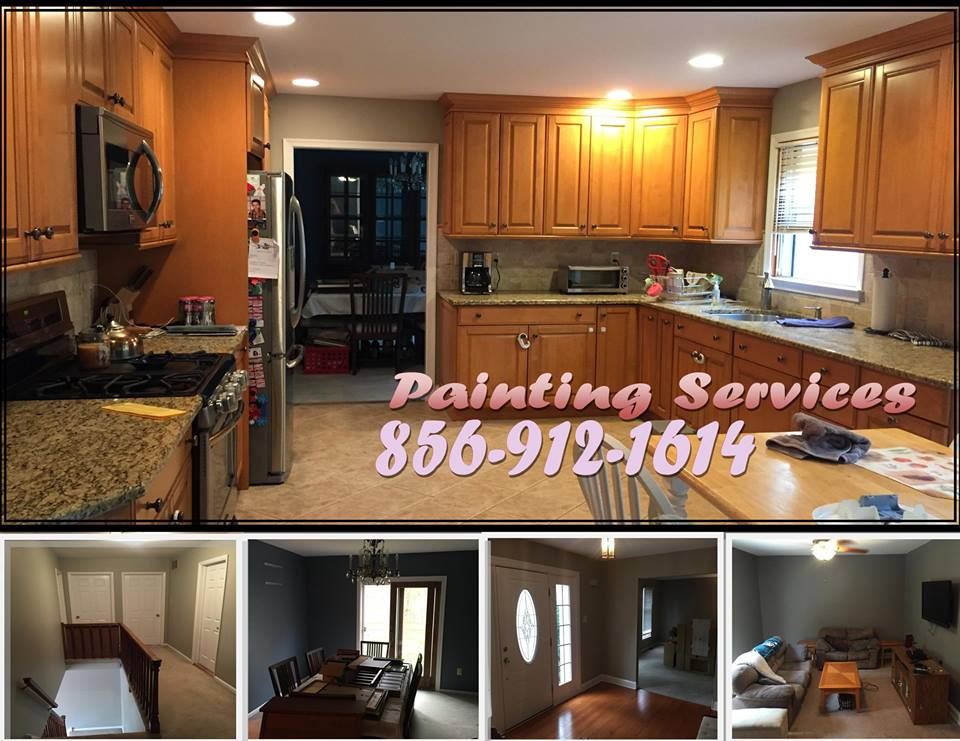Kitchen Painting in Marlton NJ