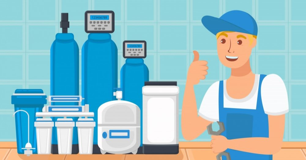 Graphic of Plumber Giving Thumbs Up