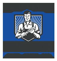 California Repipe Specialist Black Blue Graphic Logo