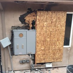 electrical fire damage restoration