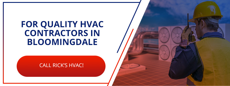Call to action for calling HVAC contractors in Bloomingdale, GA.