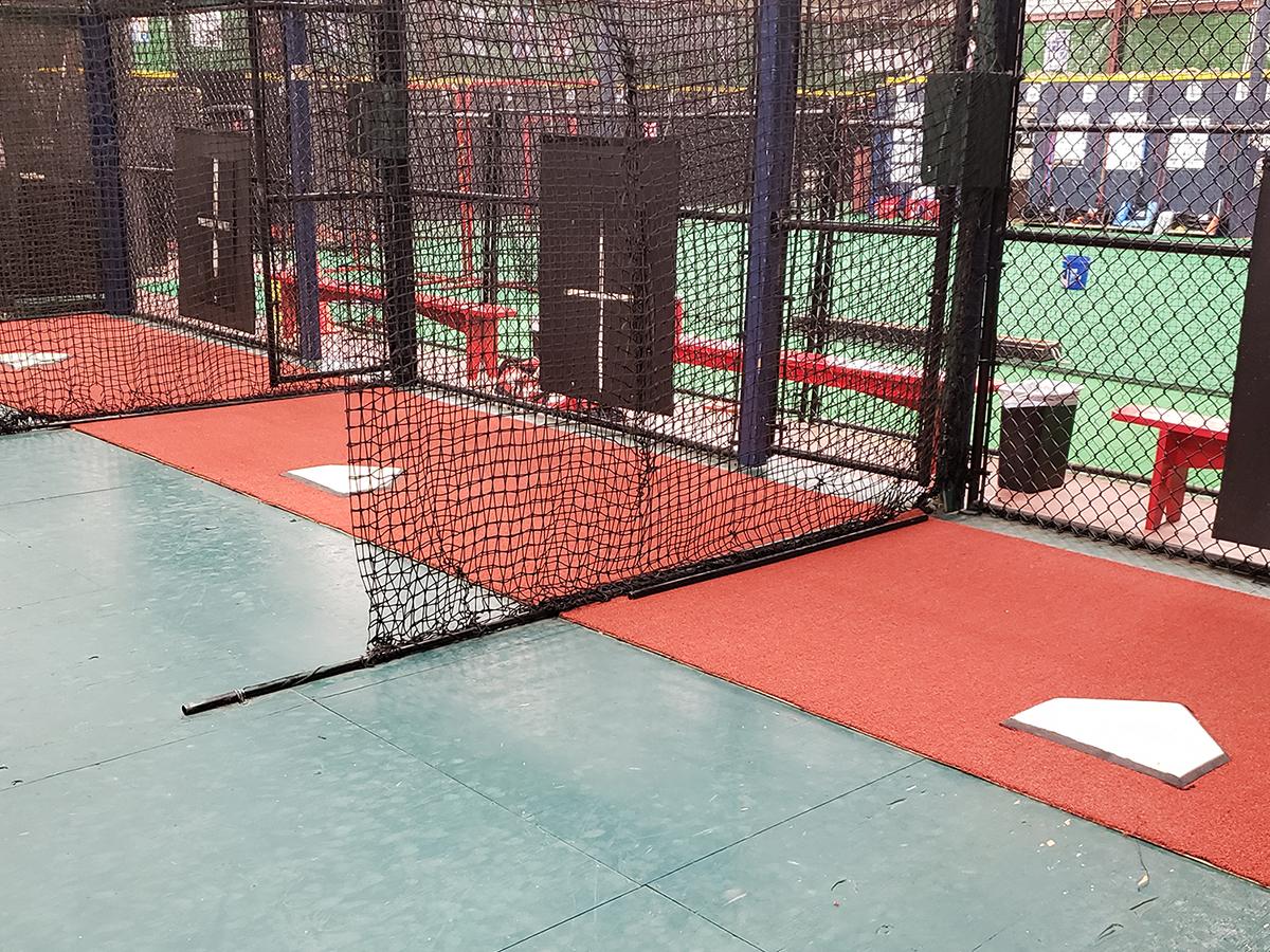 An image of Rip City Training's indoor baseball and softball training facility.