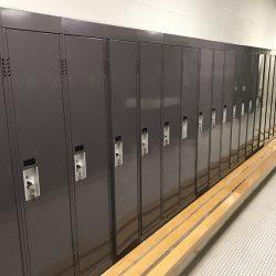 image of locker room