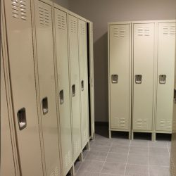 image of locker room at Markham Fire Stations 94 & 96