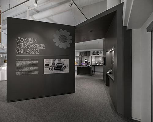 image of Dufferin County Corn Flower Glass Exhibit