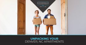 """Unpacking your Denver apartment"" blog banner."