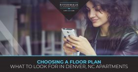 """Choosing a floor plan what to look for in Denver"" blog banner."