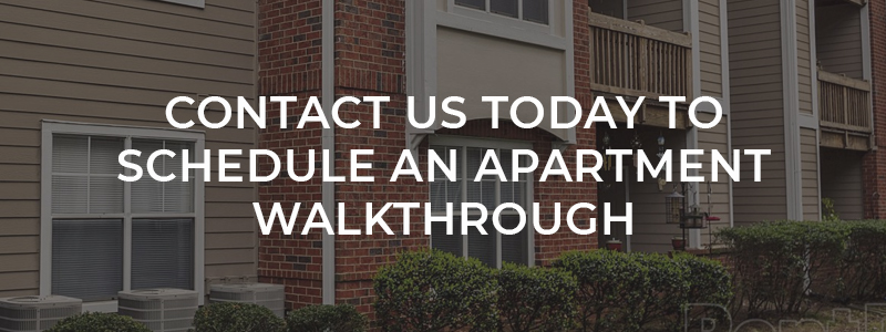 Contact Us Today To Schedule An Apartment Walkthrough