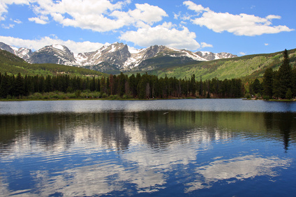 photo of Sprague Lake, Rocky Mountain National Park