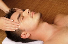 scalp massage photo
