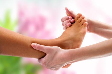 massage for feet, reflexology
