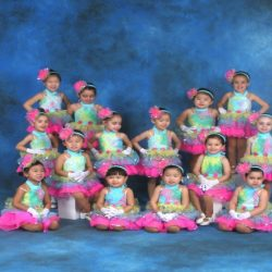 These colorful dancers have been working hard in their dance lessons at Robert Mann Dance Centre
