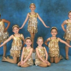 Shine bright like a diamond! Some dancers from Robert Mann Dance Centre ready to move