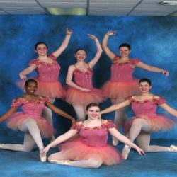 These five dancers from Robert Mann Dance Centre have been working hard in ballet classes