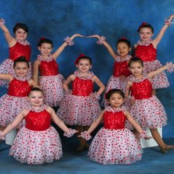 Some little dancers from our Queens Country dance studio dressed to the nines and ready to move