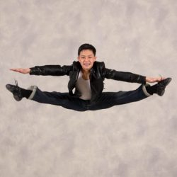 Look at that toe touch performed by one of the many talented dancers at our Queens County Dance Studio
