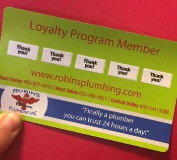 "Magnet card for Loyalty Program Members for blog ""Loyalty and Referral Program"""