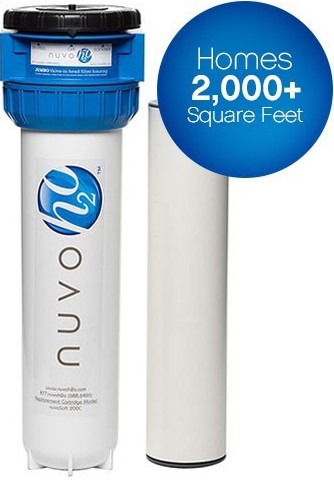 "New NuvoH2O filter for blog ""Why Choose Nuvo Water Softeners"""