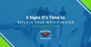 "Cover photo for blog ""Five Signs It's Time to Replace Your Water Heater"""
